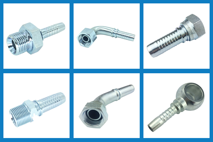 British hydraulic hose fittings