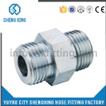 HYDRAULIC BSP MALE DOUBLE FOR 60°SEAT BONDED SEAL FITTING
