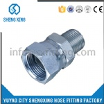 HYDRAULIC NPTF MALE/JIC FEMALE FITTING