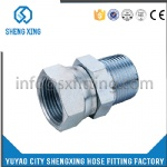 HYDRAULIC BSPT MALE /BSP FEMALE 60°CONE FITTING